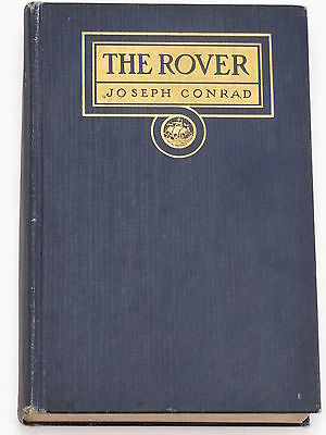 Antique Book THE ROVER by Joseph Conrad First Ed 1923 EXCELLENT Condition