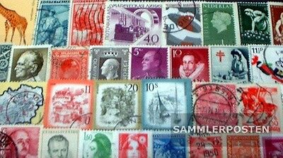 Europe 400 different stamps  without Germany