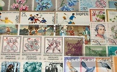 Albania 50 different special stamps