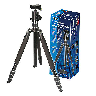 "Vidpro AT-72 Venture Maxx 72"" Professional Aluminum Travel Tripod with Ball Head"