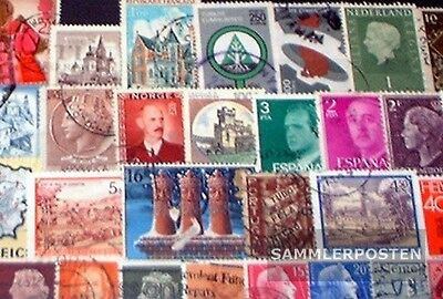 Europe 100 different stamps