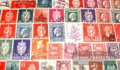 Norway 400 different stamps