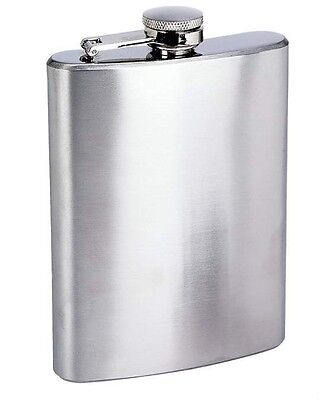 8oz Stainless Steel Hip Liquor Whiskey Alcohol Flask Pocket Wine Bottle US Selle