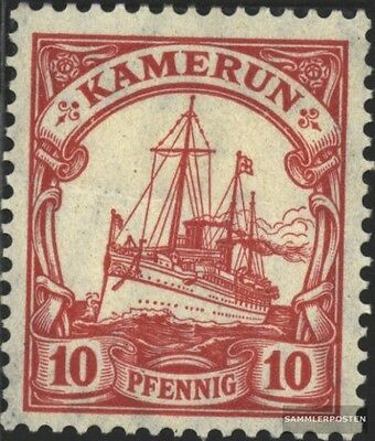 Cameroon (German. Colony) 22b used 1906 Ship Imperial Yacht Hoh