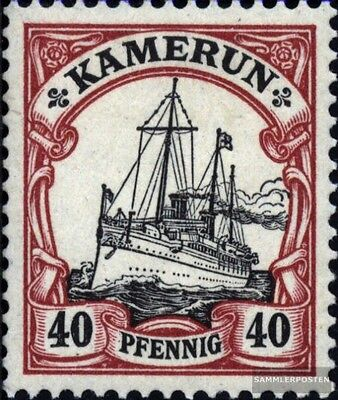 Cameroon (German. Colony) 13 with hinge 1900 Ship Imperial Yacht Hohenzollern