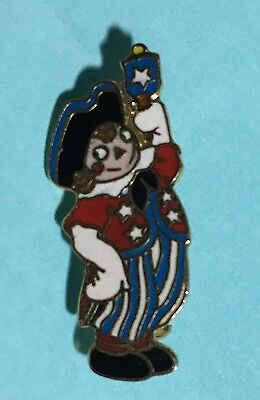 Ragedy ANDY Bicentennial-type USA Pin ---Ships Out in 1 Day