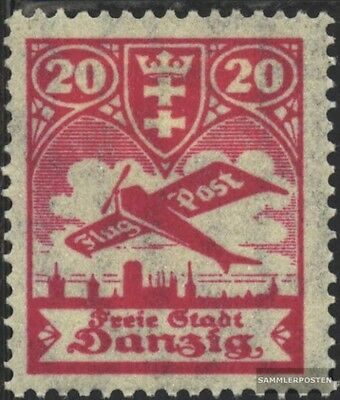 Gdansk 203 used 1924 Airmail