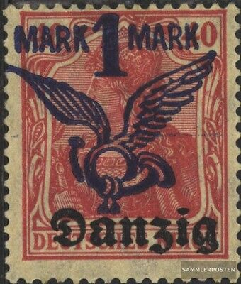 Gdansk 52 tested used 1920 Airmail