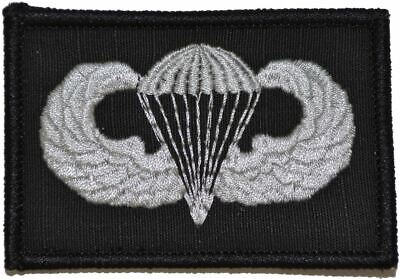 Jump Wings 2x3 Military/Morale Patch Hook Backing US ARMY Skill Badge