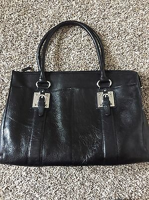 Wilsons Leather Black Women's Work Computer Laptop Bag Briefcase