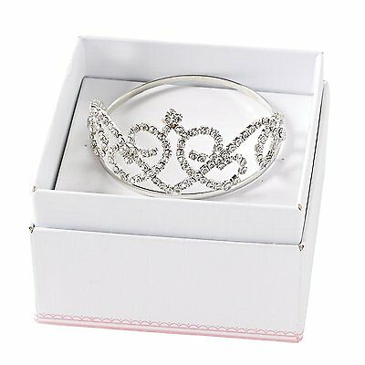 Mud Pie Baby Girls' Photography Crown, Silver, 0-3 Months
