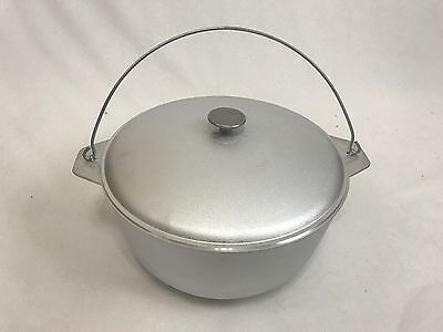 10 litter outdoor Cooking Cast Aluminum pot camping Dutch Oven Lid vintage style
