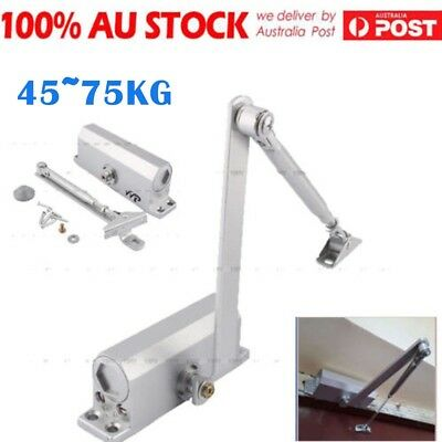Adjustable Auto Door Closer Fire Rated 60~80KG Suits Inward & Outward AU Ship DQ