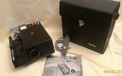 VINTAGE ORION By Rollei P350AF Cord Remote Carrying Case MINT CONDITION WORKING