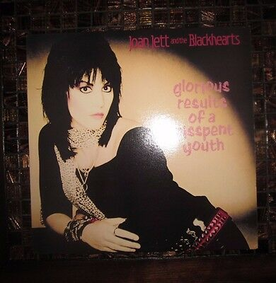 """Joan Jett And The Blackhearts – Glorious Results Of A Misspent Youth  * 12"""" LP"""