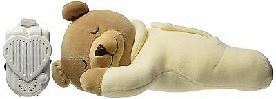 Prince Lionheart HEARTBEAT Bear WOMB SOUNDS Heartbeat Infant Soother CREAM beige