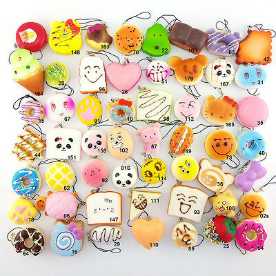 30/20/10pcs lot Random Squishy Jumbo Mini Panda Cone Donuts Toast Turtle Cartoon