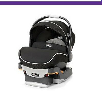 Chicco Keyfit 30 Zip Infant Car Seat - Obsidian With Optional Use Base