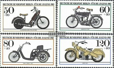 Berlin (West) 694-697 (complete.issue) unmounted mint / never hinged 1983 Youth
