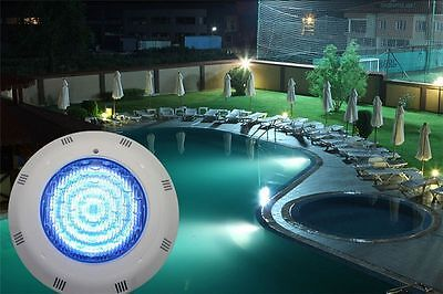 LED RGB Underwater Swimming Pool Underwater 12V 5 Colors Light +Remote Control