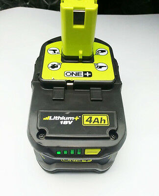 Ryobi P108 4Ah 18V Power Tool One+ Li-ion Cordless Tool Battery Led Display
