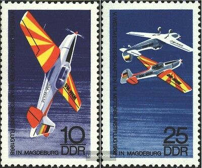 DDR 1391-1392 (complete.issue) unmounted mint / never hinged 1968 motor world ae