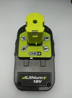 Ryobi P107 ONE+ 18-Volt One+ Plus Li-ion Compact Battery Pack Used
