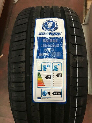 Pneumatici Gomme ESTIVE 235 40 R18  95 W   SUNWIDE RS-ONE S0601H DOT 2017
