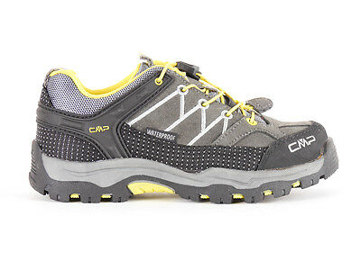 CMP Hiking shoes Hiking shoe Kids Rigel Low Trekking Grey Leather