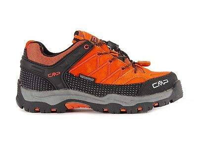 CMP Hiking shoes Hiking shoe Kids Rigel Low Trekking orange Leather