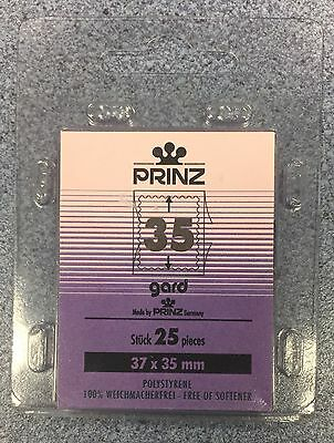 ⭐️35mm PRINZ GARD Stamp Mount  - Black Mount - (37mmx35mm) + FREE UK DELIVERY!⭐️
