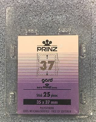 ⭐️37mm PRINZ GARD Stamp Mount  - Black Mount - (35mmx37mm) + FREE UK DELIVERY!⭐️