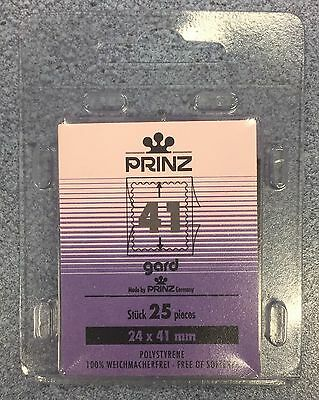 ⭐️41mm PRINZ GARD Stamp Mount  - Black Mount - (24mmx41mm) + FREE UK DELIVERY!⭐️