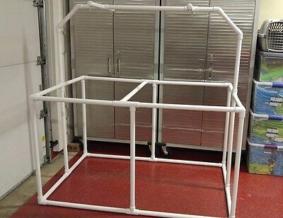 """1"""" PVC Parrot Play Stand 5'x3'- Huge FLOOR PERCH  **FREE SHIPPING**"""