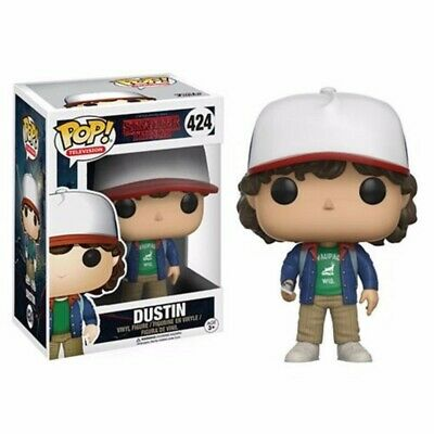Funko Pop Stranger Things Dustin With Compass Vinyl Action Figure