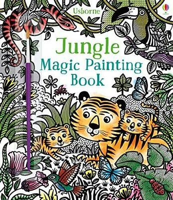 Jungle Magic Painting Book by Sam Taplin New Paperback Book
