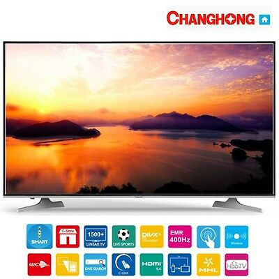 Televisione Smart TV 40'' Pollici Full HD 400 Hz HDMI Classe A Slim Wireless Lan