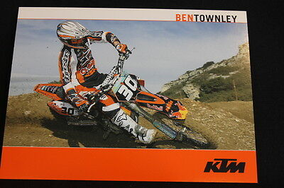 Card Red Bull KTM 250 SX 2004 #30 Ben Townley (NZL) (HW)