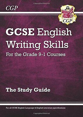 GCSE English Writing Skills Study Guide - for th by CGP Books New Paperback Book