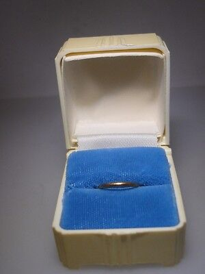 Antique 1920-30'S Art Deco Lucite Ring Box With 10K Gold Baby Ring!