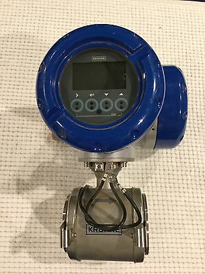Krohne Optiflux 5300 electromagnetic flow sensor