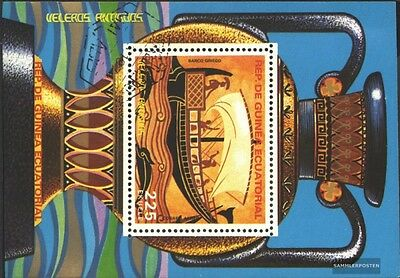 Equatorial-Guinea block281 (complete issue) used 1978 Vessels t
