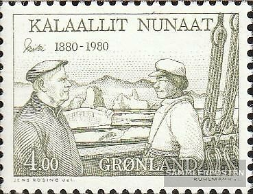 Denmark-Greenland 125 (complete issue) unmounted mint / never hinged 1980 Ejnar