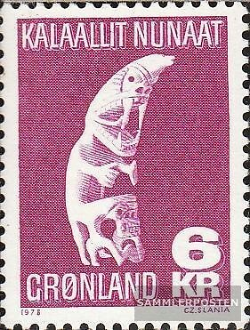 Denmark-Greenland 111 (complete issue) unmounted mint / never hinged 1978 Crafts