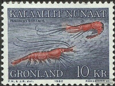 Denmark-Greenland 133 (complete issue) unmounted mint / never hinged 1982 prawn