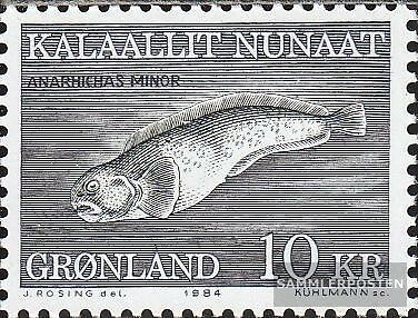 Denmark-Greenland 154 (complete issue) unmounted mint / never hinged 1984 Seafoo