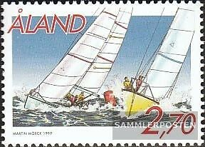 Finland-Aland 158 (complete issue) unmounted mint / never hinged 1999 Matchrace-