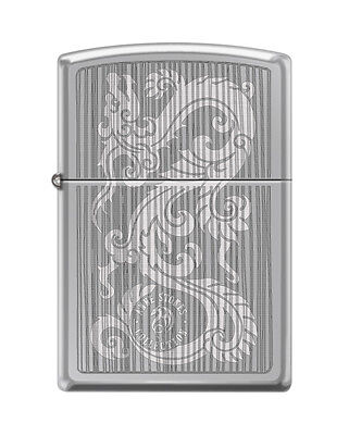 Zippo 0111, Anne Stokes-Dragon, High Polish Chrome Finish Lighter