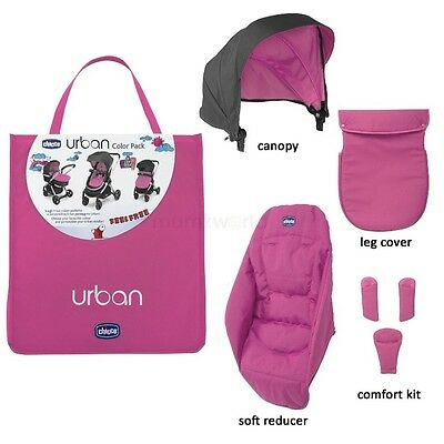 Chicco Urban Color Pack Cherry Pink