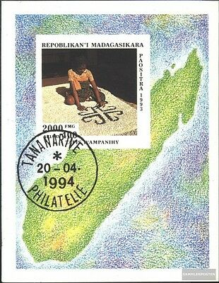 Madagascar block255 (complete issue) used 1994 Crafts